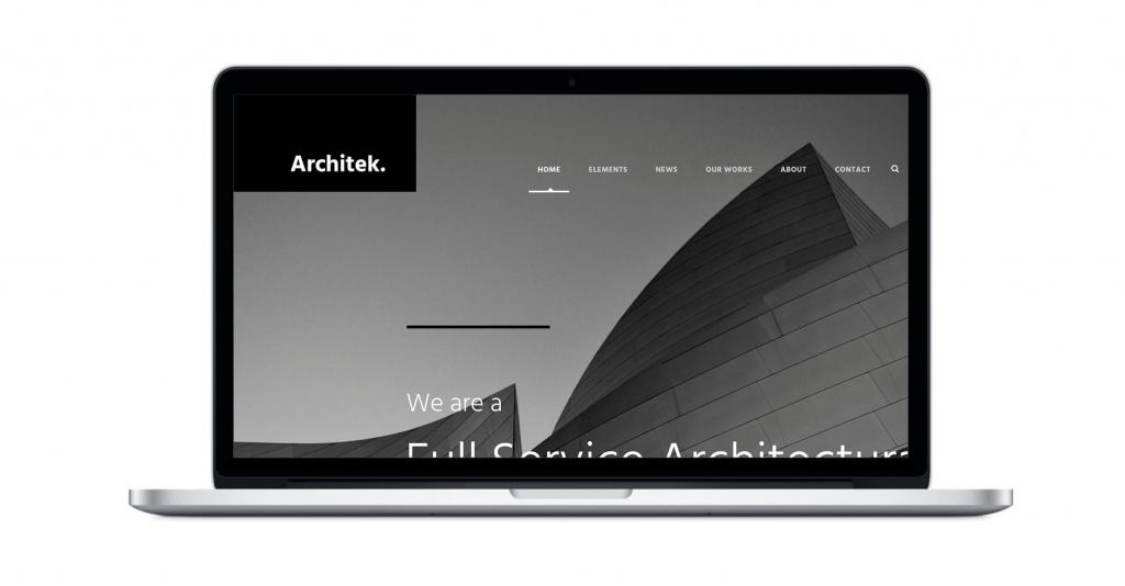template wordpress per architetti