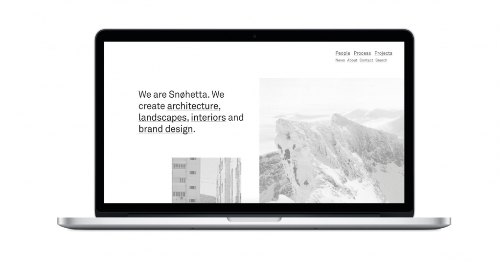 SNØHETTA How are the architects websites? Here's a complete overview