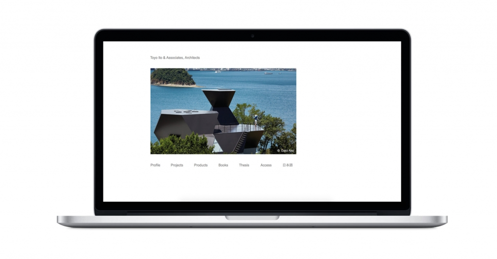 TOYO ITO How are the architects websites? Here's a complete overview