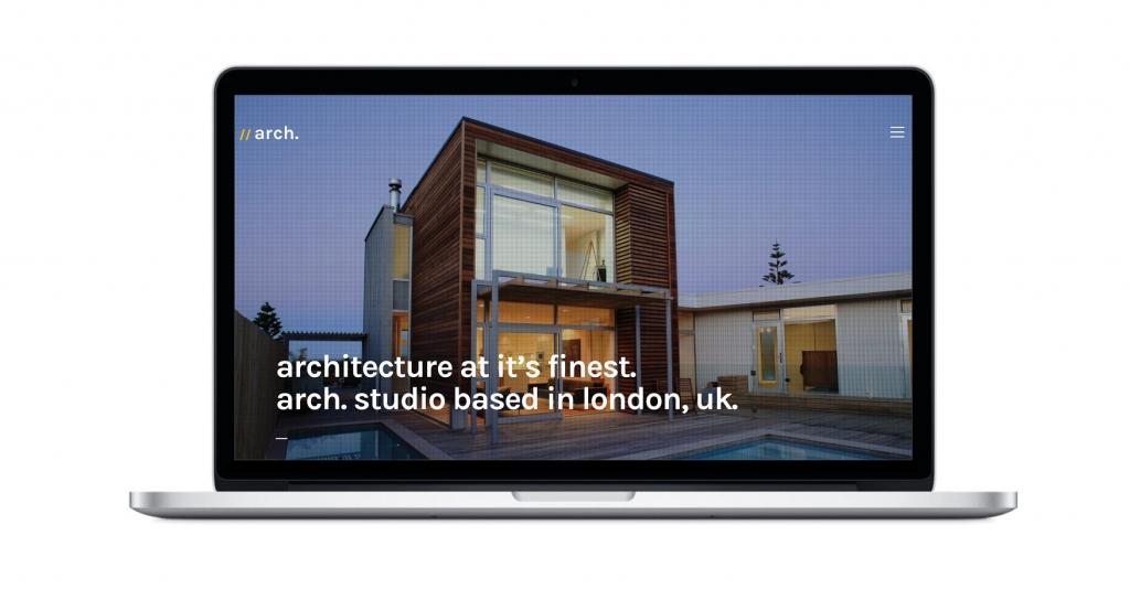 architettura tema wordpress